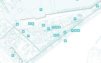 La mappa multilivello del quartiere Mazzorbo a Venezia